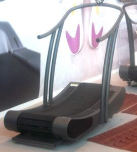 Tapis Roulant magnetico Curve by Woodway