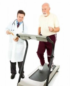 Riabilitazione sul tapis roulant per persone anziane o post-tramautica